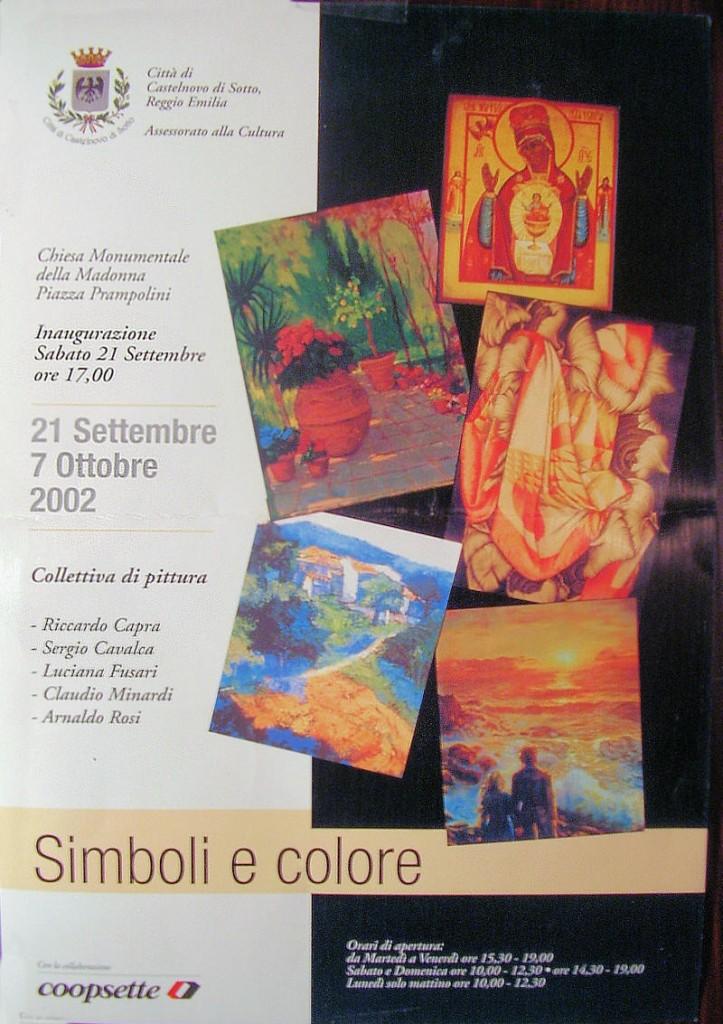 Simboli e Colore, Ottobre 2002