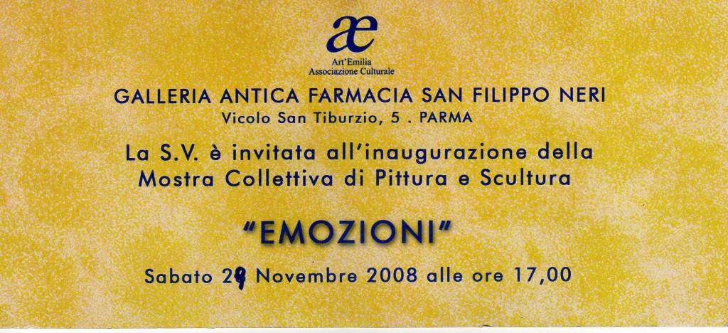 Emozioni, Novembre 2008