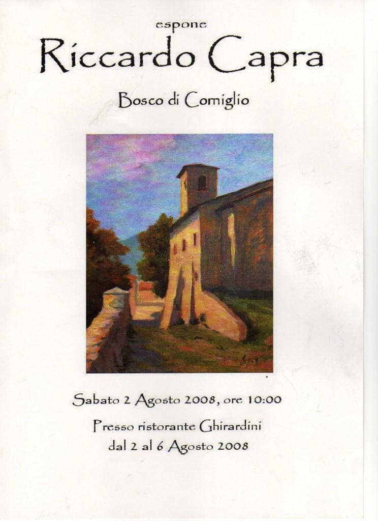 Bosco di Corniglio, Agosto 2008