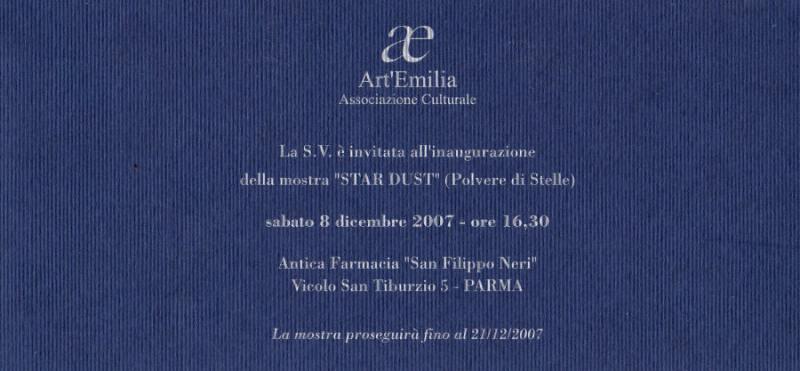 Art Emilia, Dicembre 2007