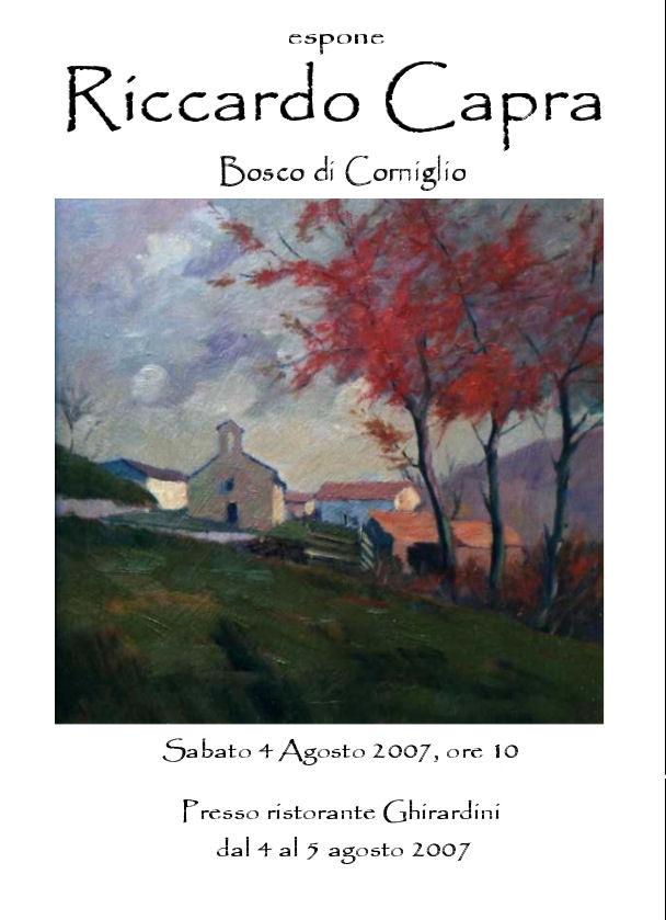 Bosco di Corniglio, Agosto 2007