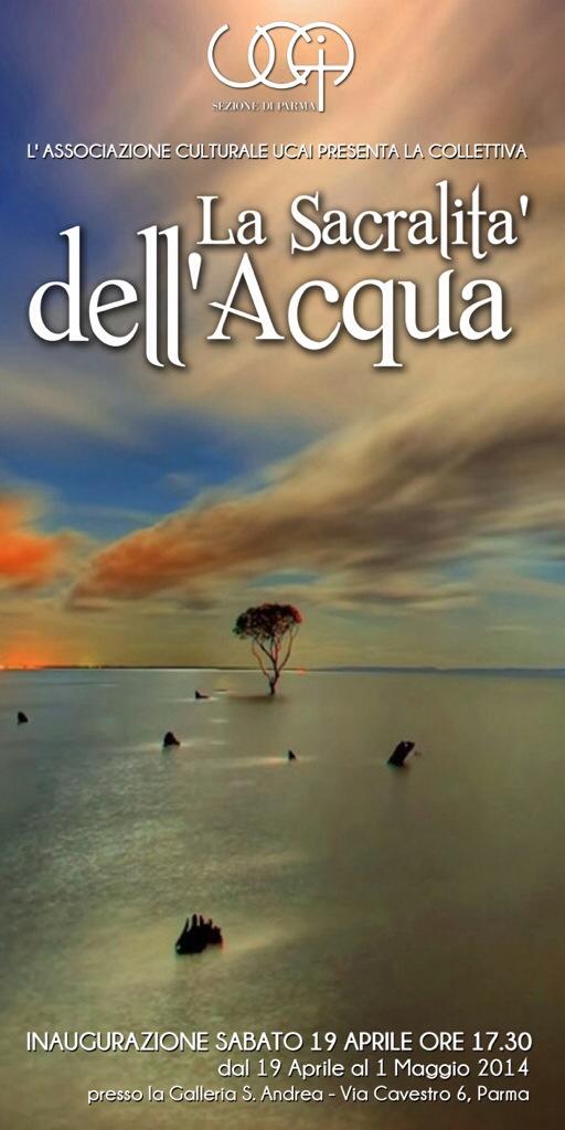 La Sacralità dell'Acqua, Aprile 2014