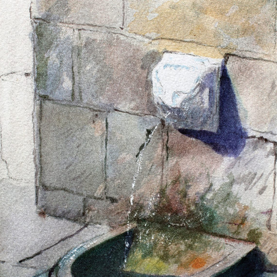 La fontana di Berceto