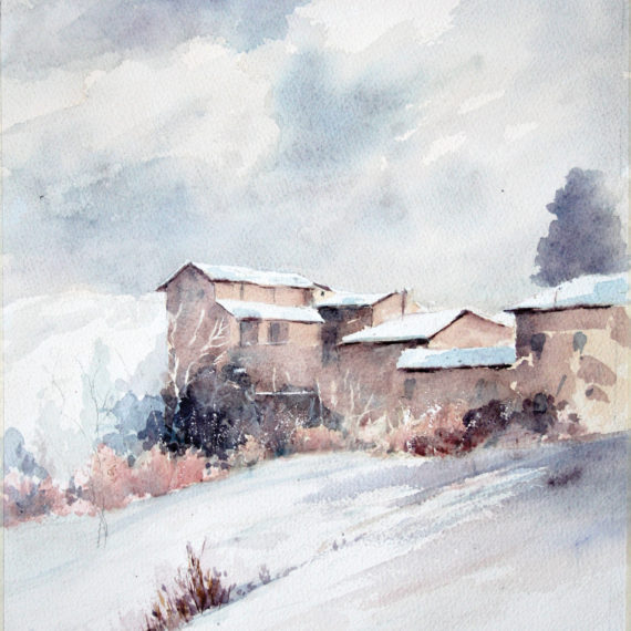 Nevicata a San Vitale